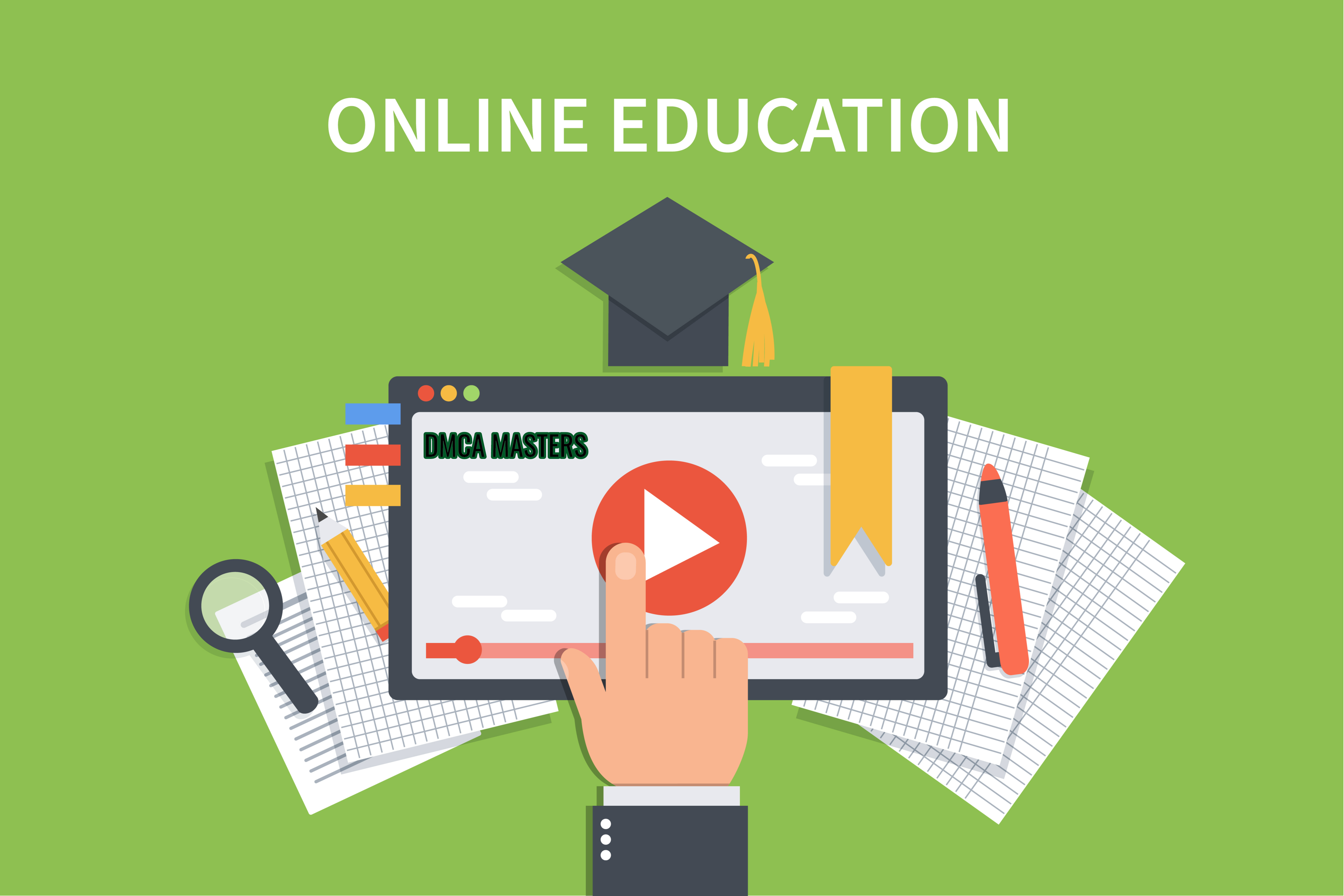 online education DMCA protection